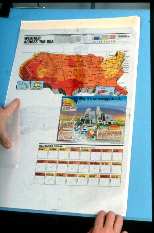 USA TODAY turns 30-Part 3–A weather map that created a