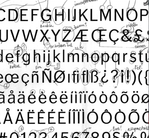 All about FF Dagny: Evolution of a newspaper type font