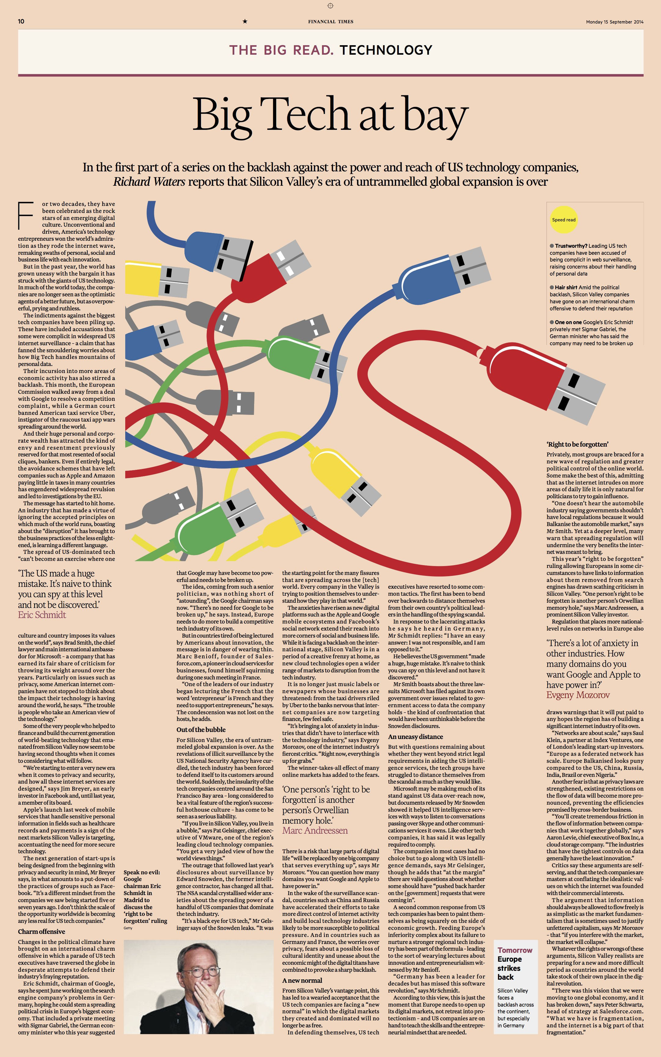 Financial Times: a classic redesign for the digital age | García Media