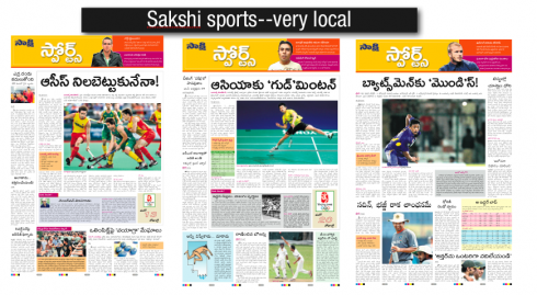 More than twelve million read the new Sakshi daily of