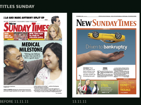 New Straits Times: it is 11-11-11 and launch day | García Media